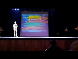 """Студия современного танца """"Натали""""спорт.танец """"Золотой звездопад"""" (10-12 лет)"""