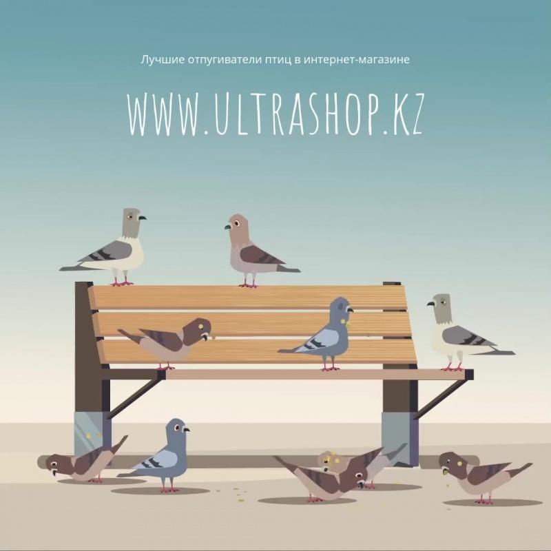 Отпугиватели птиц в интернет-магазине www.ultrashop.kz