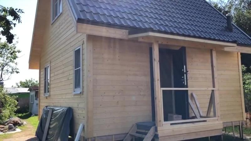 Каркасный дом 6х6 _ Как построить каркасный дом за месяц