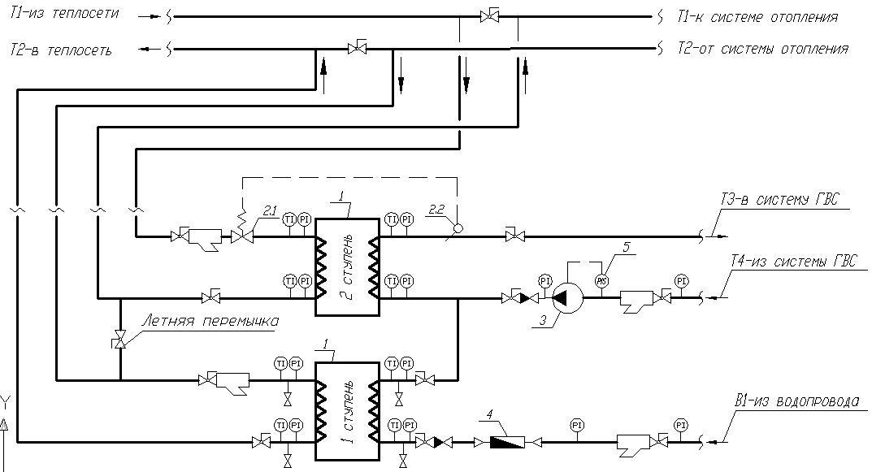 Теплообменники в системах ГВС. Экономия при использовании новой схемы подключения., изображение №2