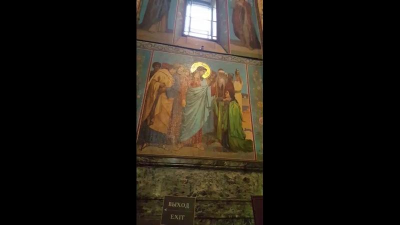 Собо́р Воскресе́ния Христо́ва на Крови́ или храм Спа́са на Крови́ в Санкт Петербурге Осень 2019год