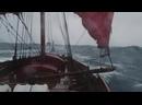 На корабле викингов в шторм на Северном море