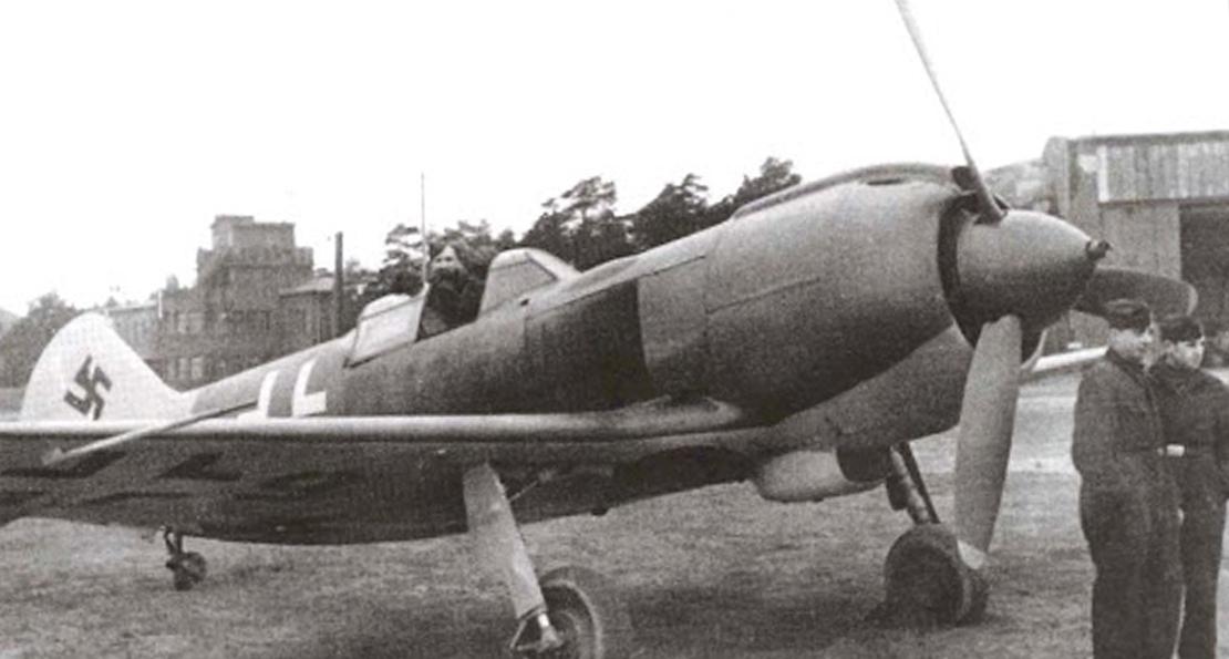 Советский истребитель в люфтваффе