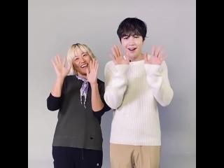 С Новым годом!!! с Чо Сон Хи
