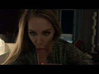 Nicole Aniston - Deep and Sloppy blowjob at home (2020) [Blowjob, Deep Throat, Oral Creampie, POV, Brandy, Love, Ruined orgasm]