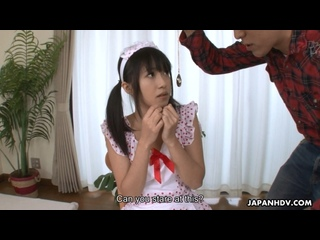 Kotomi Asakura - JapanHDV ## JAV hypno mind control asian brunette teen hairy pussy sex porn