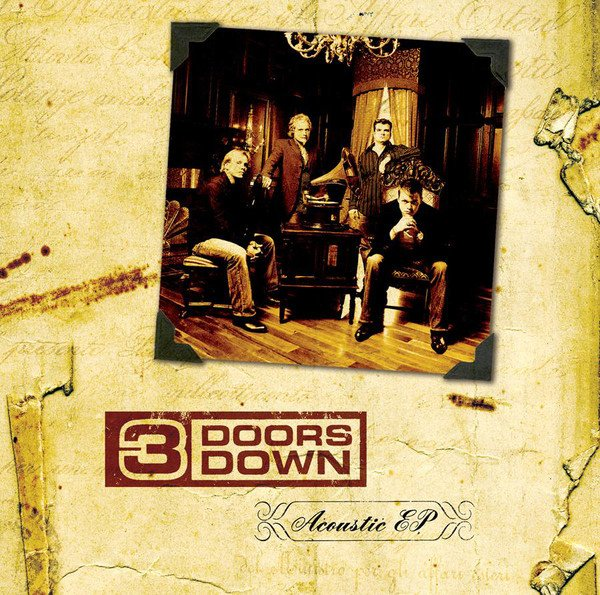 3 Doors Down album Acoustic EP (Limited Edition)