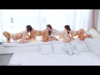 Лесбийская Многоножка Sheena Shaw, Anna De Ville, Alysa Gap, Rebecca Black - Anal Buffet 13, Gape Анал Fisting Teen Booty Ass