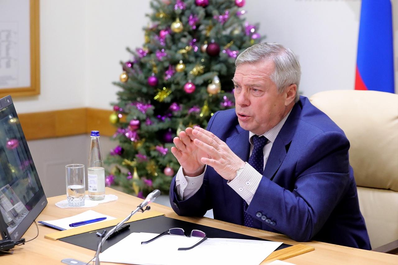 Губернатор Василий Голубев опроверг слухи о готовящемся локдауне в Ростовской области