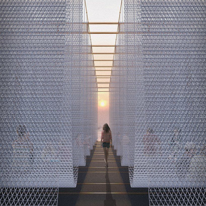 victor pricop's design is a featured entry of the hong kong young architects competition