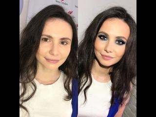 Blue Makeup  by Natalie Santalova