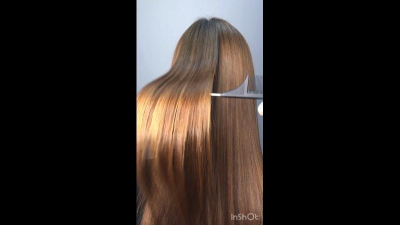 Видео от Марины Кератин Ботокс