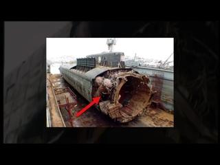 КТО ЗАТОПИЛ подводную лодку КУРСК ؟ 10 ФАКТОВ о таинственной гибели АПЛ К-141 Курск
