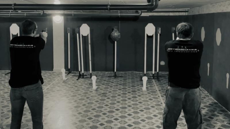 Тренировка Лиги Телохранителей г Курск