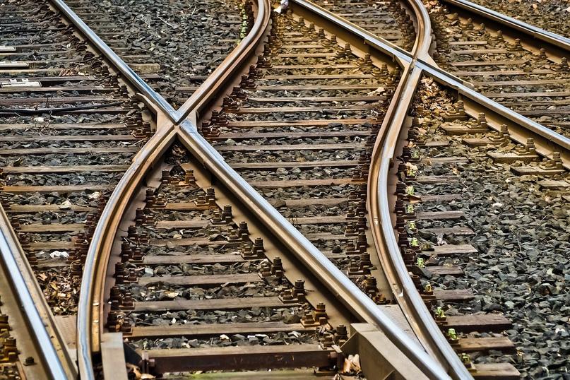 ВМинске двое мужчин попытались украсть железнодорожное полотно