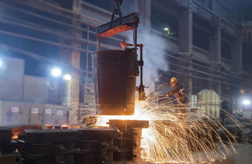 Уральская Сталь нарастила объёмы производства крупногабаритного литья