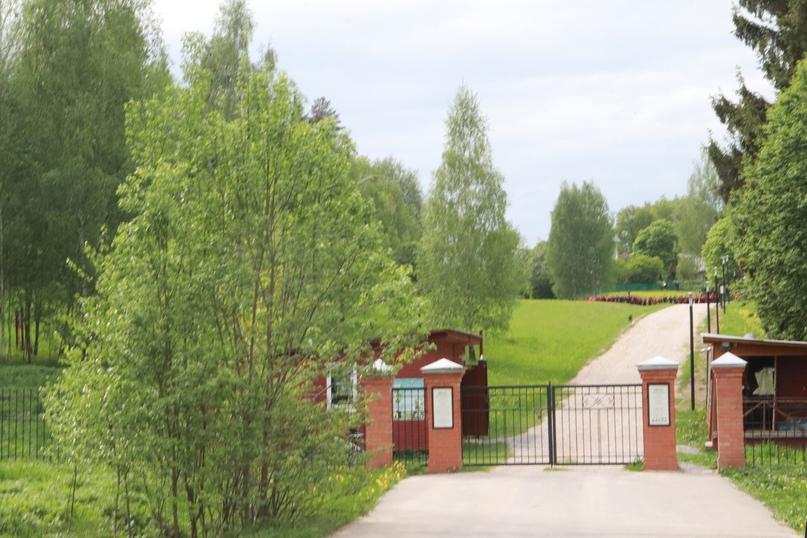Ворота музея-усадьбы «Шахматово»