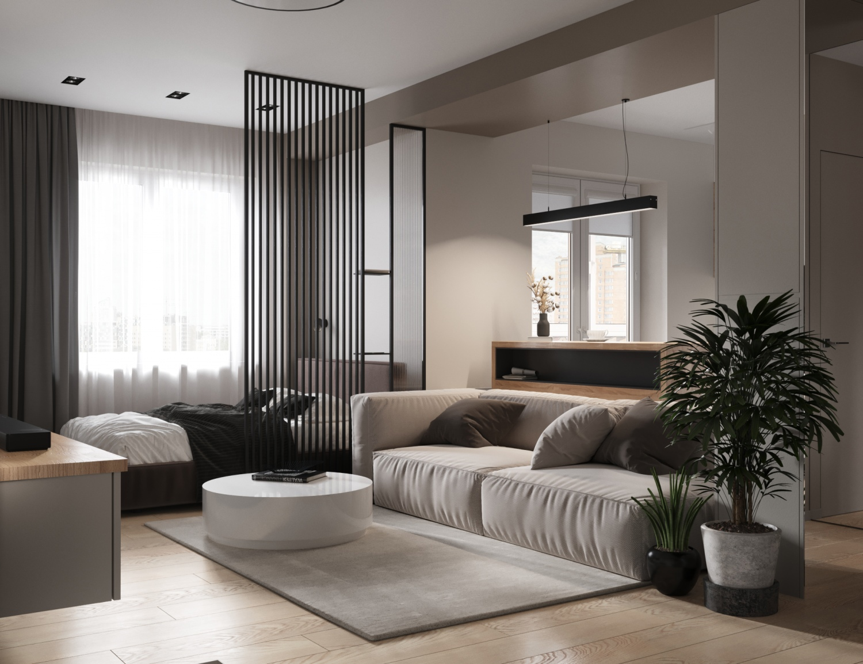 Дизайн-проект квартиры 37 кв.