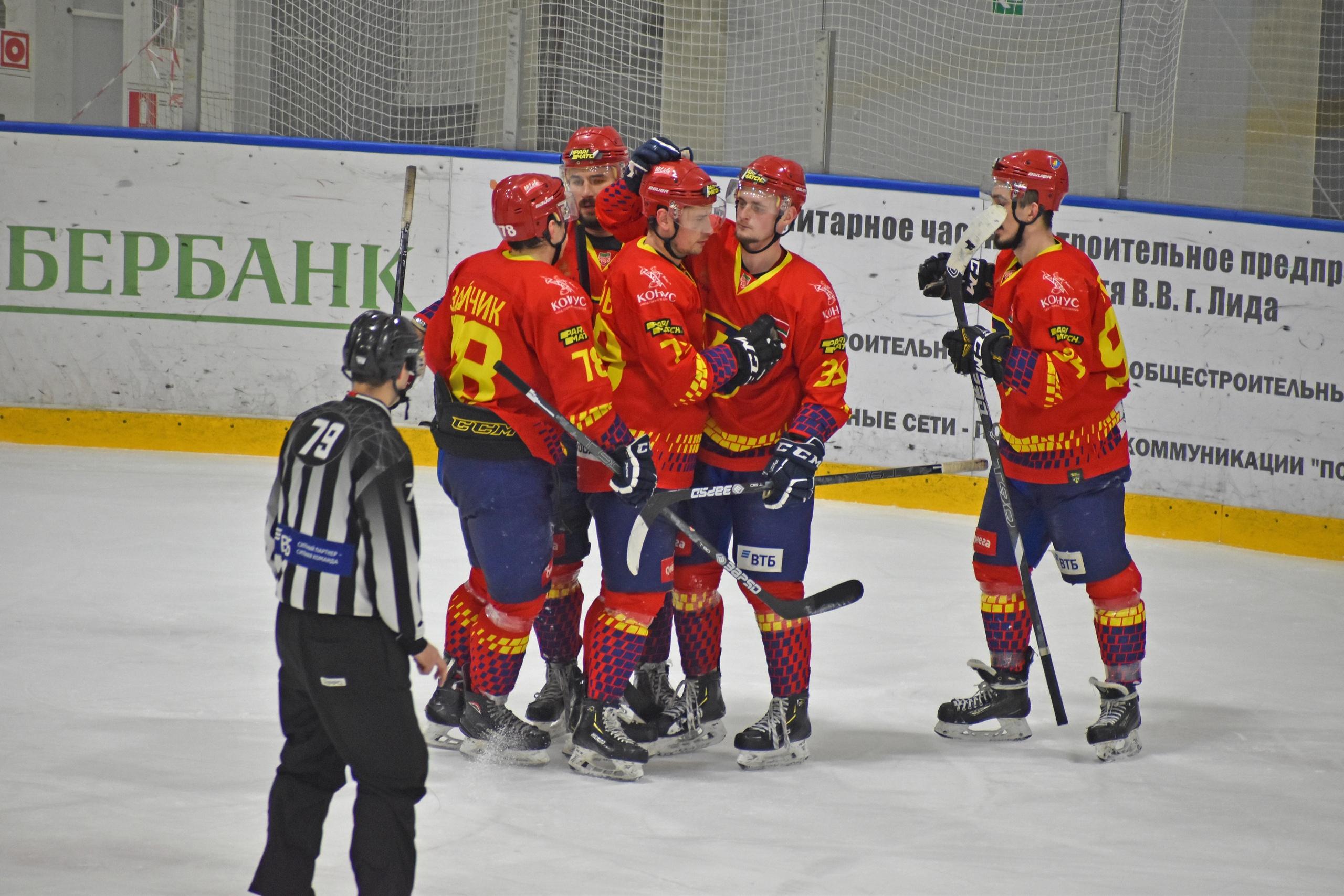 Хоккейный клуб «Лида» дома уступил «Могилеву».