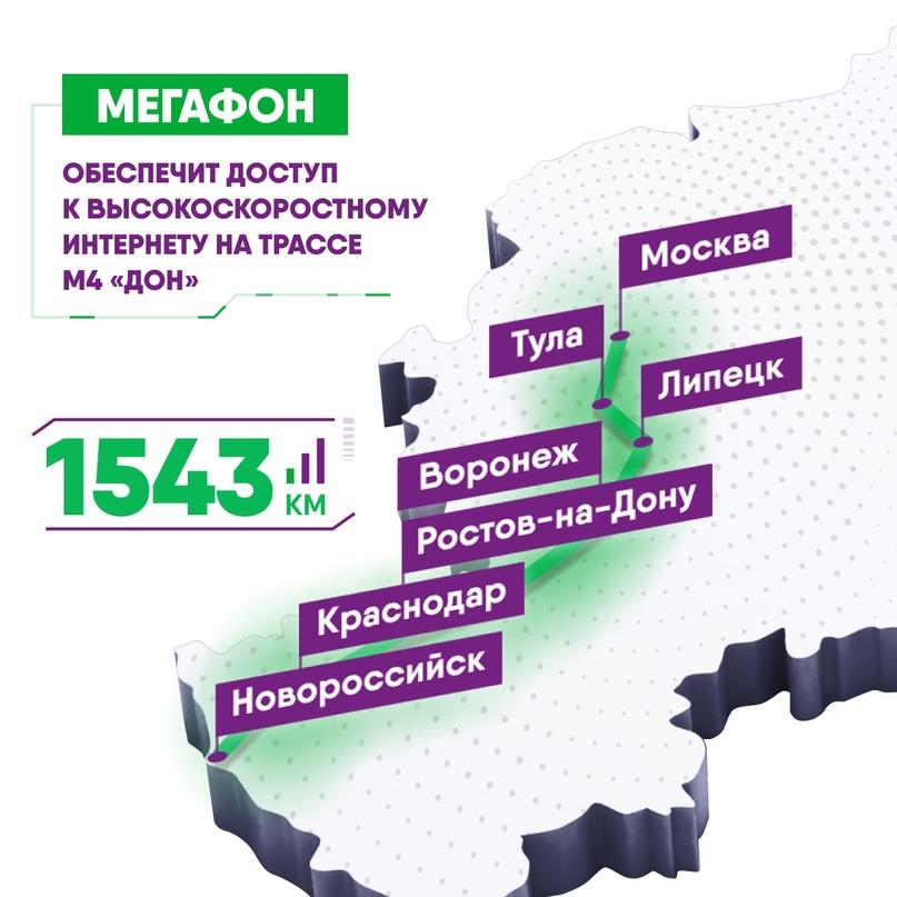 "МегаФон ускорит интернет на трассе М4 ""Дон"""