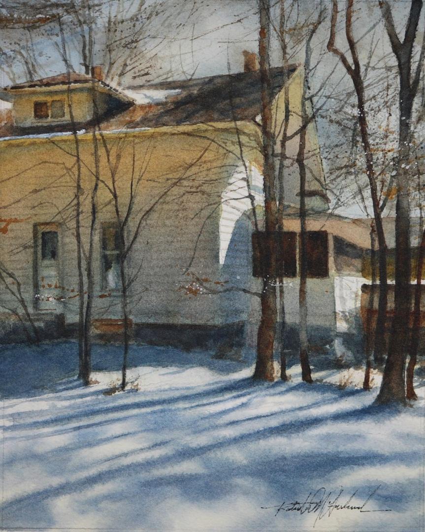 Американский художник-акварелист. Robert McFarland, изображение №44