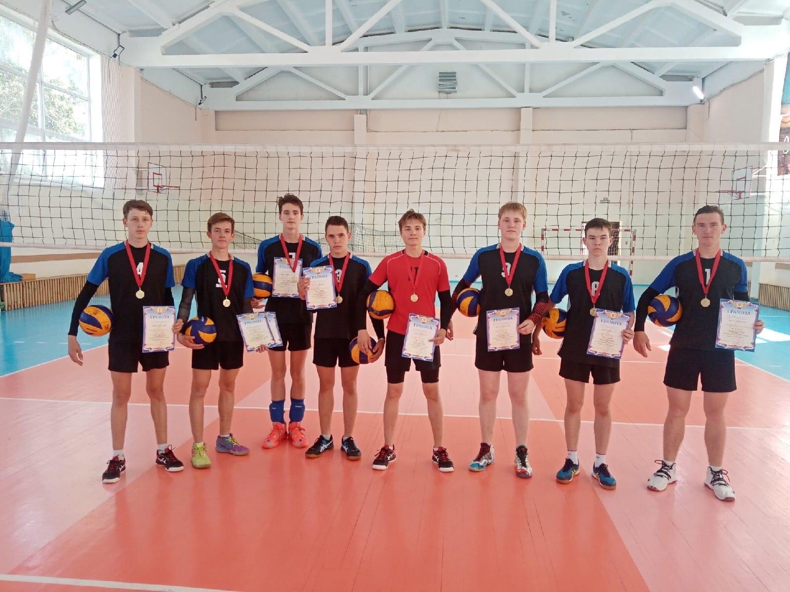 Волейболисты из Можгинского района абсолютные чемпионы Удмуртии!Открытый