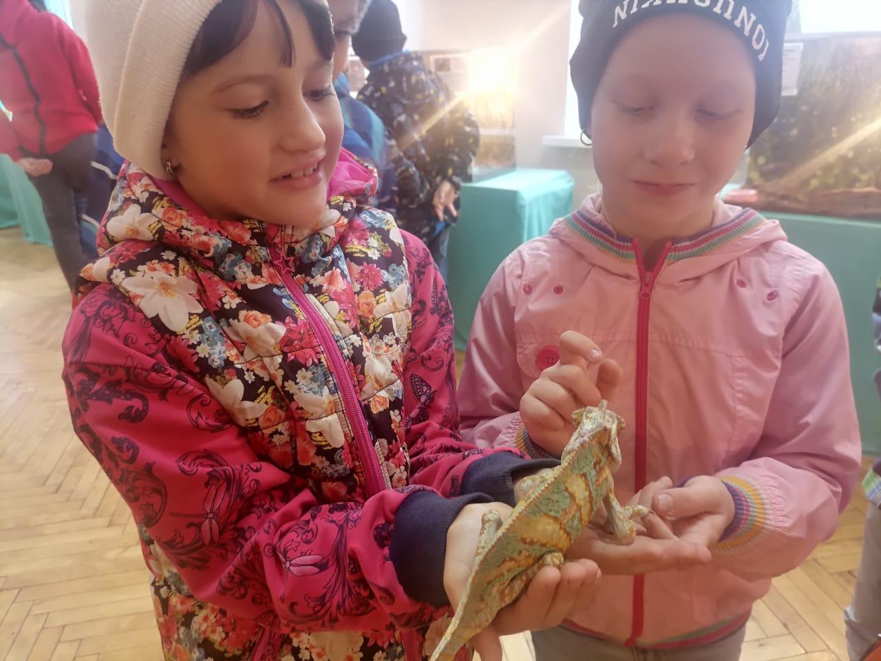 В Ржевском районе дети посетили познавательную экскурсию