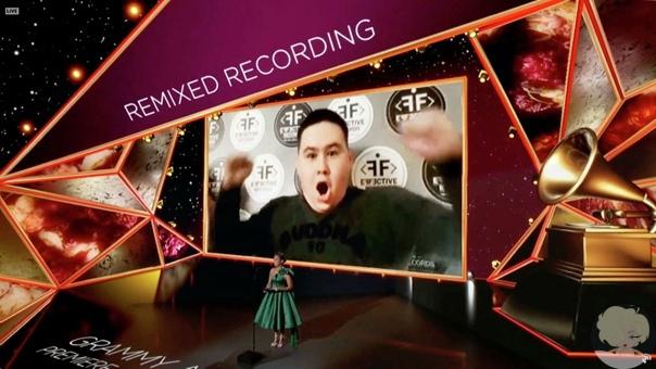 Диджей из Казахстана Imanbe получил «Грэмми» за лучший ремикс года
