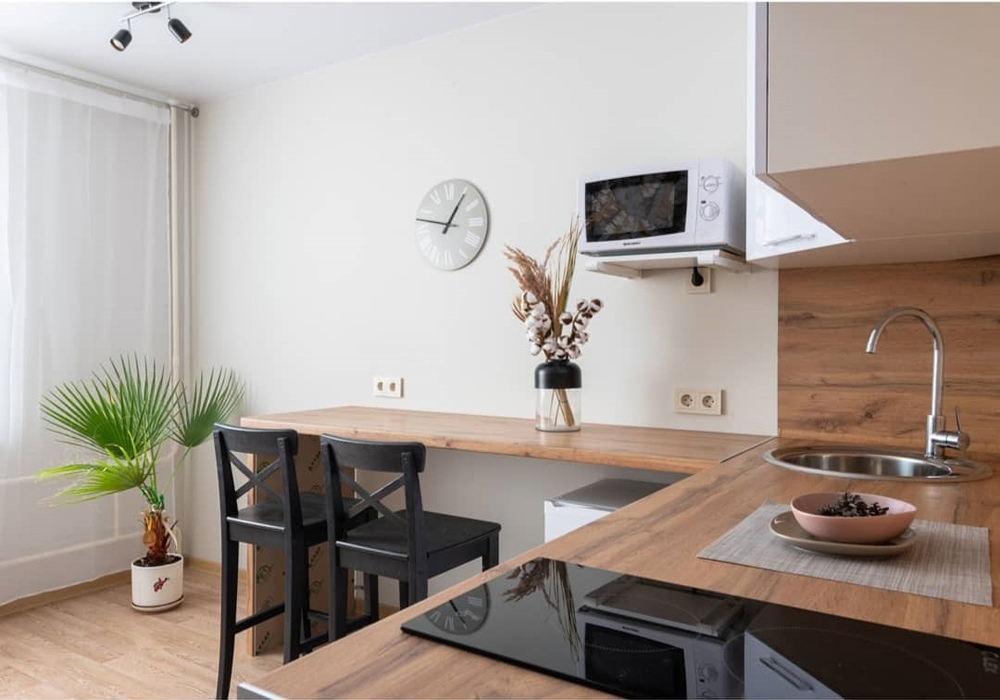Фото и видео-обзор маленькой квартиры-студии 19 кв.