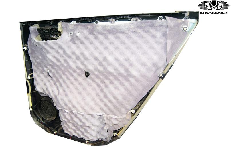 Шумоизоляция Toyota Highlander, изображение №17