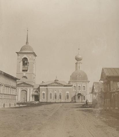 Успенская церковь, 1895-1895 гг.