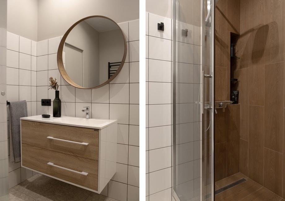 Интерьер квартиры-студии 31 м (почти 35 м с лоджией) в Москве под сдачу.