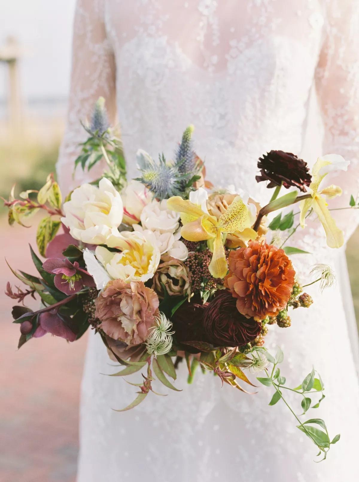 UfLIDBZ dJU - Букет невесты из тюльпанов