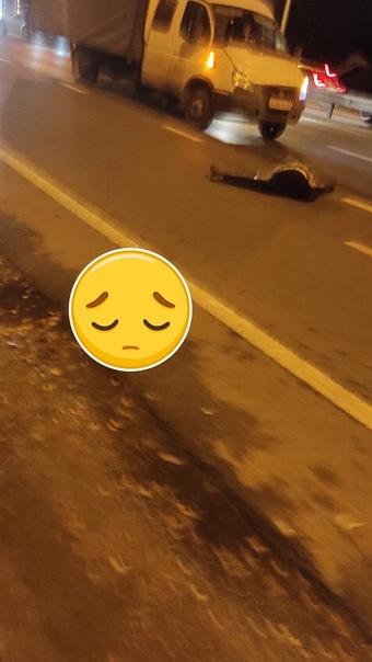 Перед метро труп на пешеходном переходеЖенщину нас...