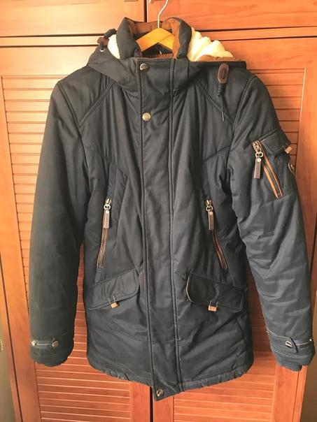 Продам Теплую зимнюю курткусостояние отличноевсе з...