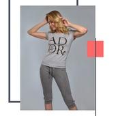"""Комплект с бриджами """"ADORE"""" (серый №3)"""