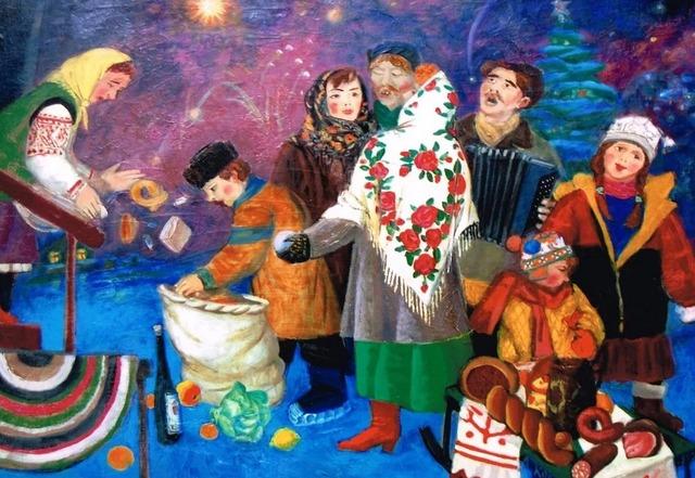 Щедровки, заклички, колядки на Рождество и Святки для взрослых и детей