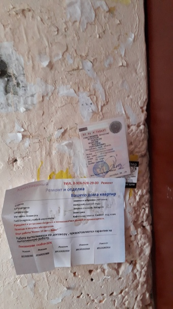 Утеряны права,были найдены на Калинина 9а,1 подъез...