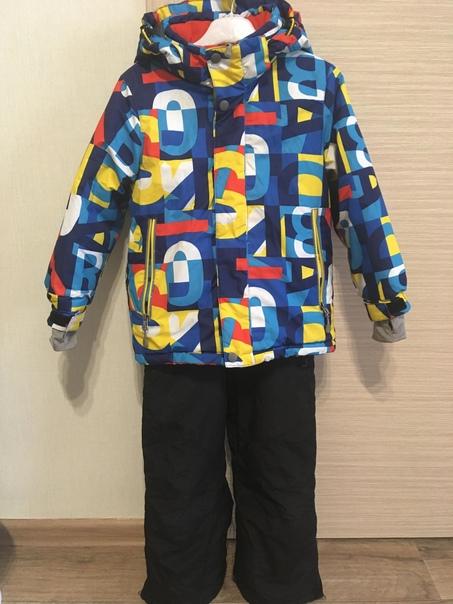 Зимний костюм для мальчика, тёплый. В хорошем сост...