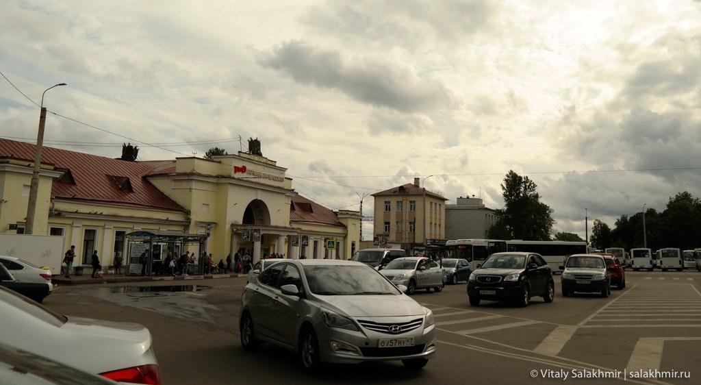 Станция Гатчина Варшавская 2020