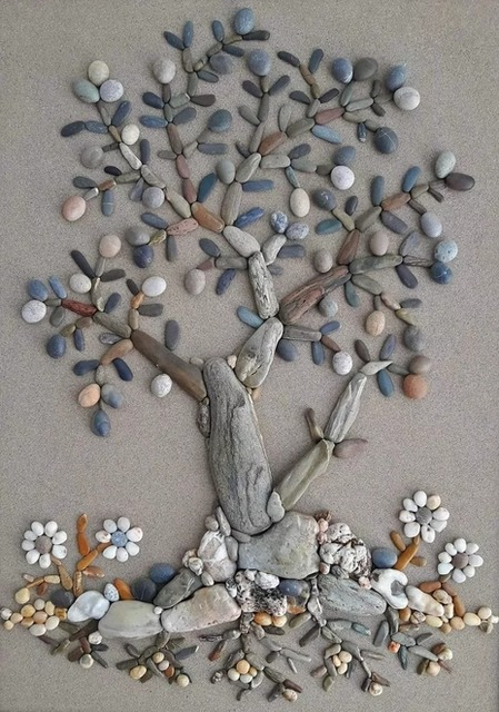 Что можно сделать из морских камней? Интересные идеи для дома, поделки из камней, поделки для дома из природных материалов,