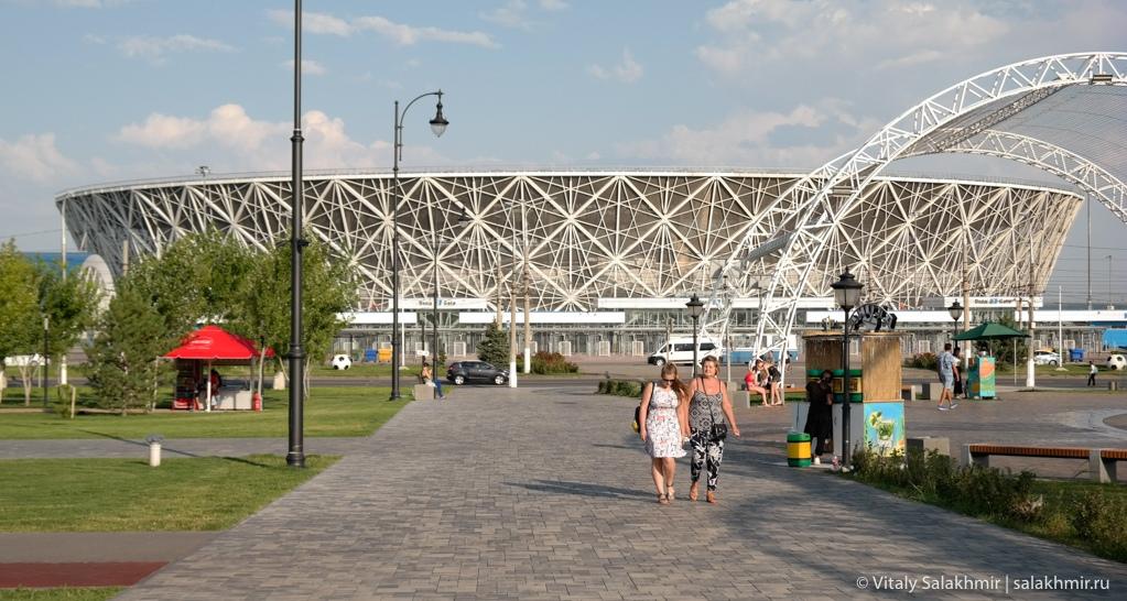 Обзор стадиона Волгоград Арена 2020