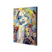 Репродукция картины, печать на холсте 34x50,5 см
