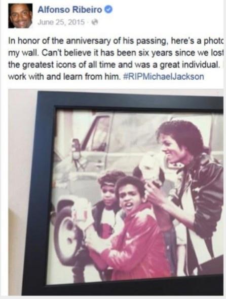 Альфонсо Рибейро - первая мини-версия Майкла Джексона., изображение №55