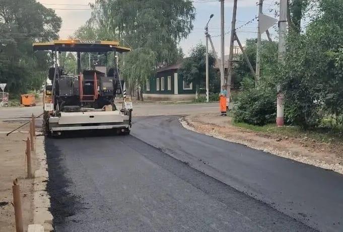 В Петровске завершены дорожные ремонтные работы на одном из участков улицы Володарского