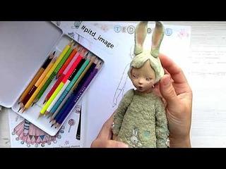 Создание образа авторской куклы, Teddy Doll.