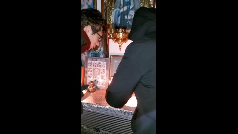 Часовня возле святого источника в честь иконы Казанской Божией Матери