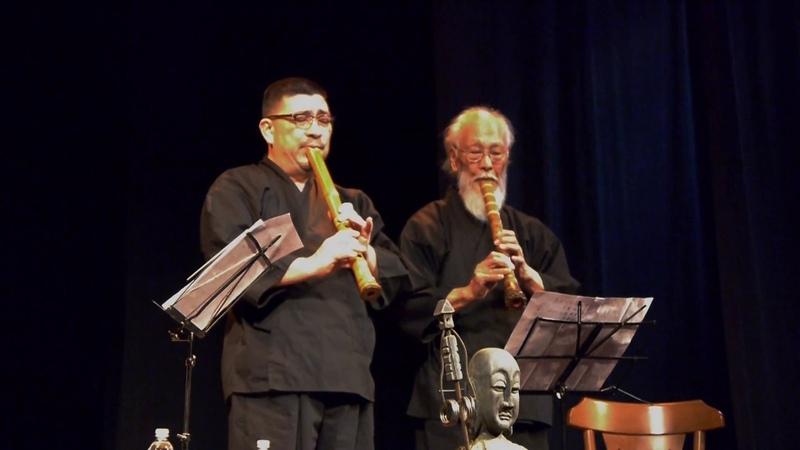 Concerto de Shakuhachi Akio Yamaoka e Claudio Yoshiwara смотреть онлайн без регистрации