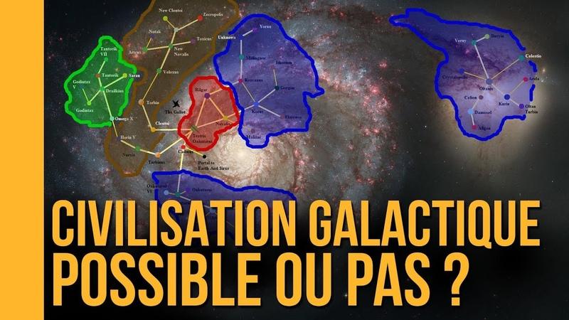 Une civilisation galactique est elle possible The Flares