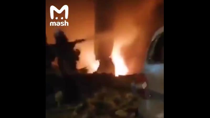Мощный взрыв на топливном складе в Бейруте